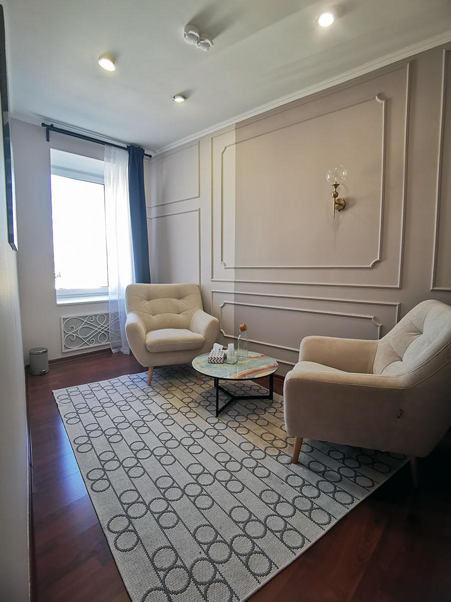 Уютный кабинет психолога в аренду