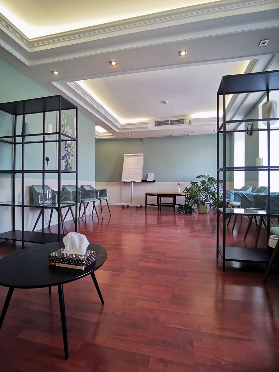 Залы для семинаров