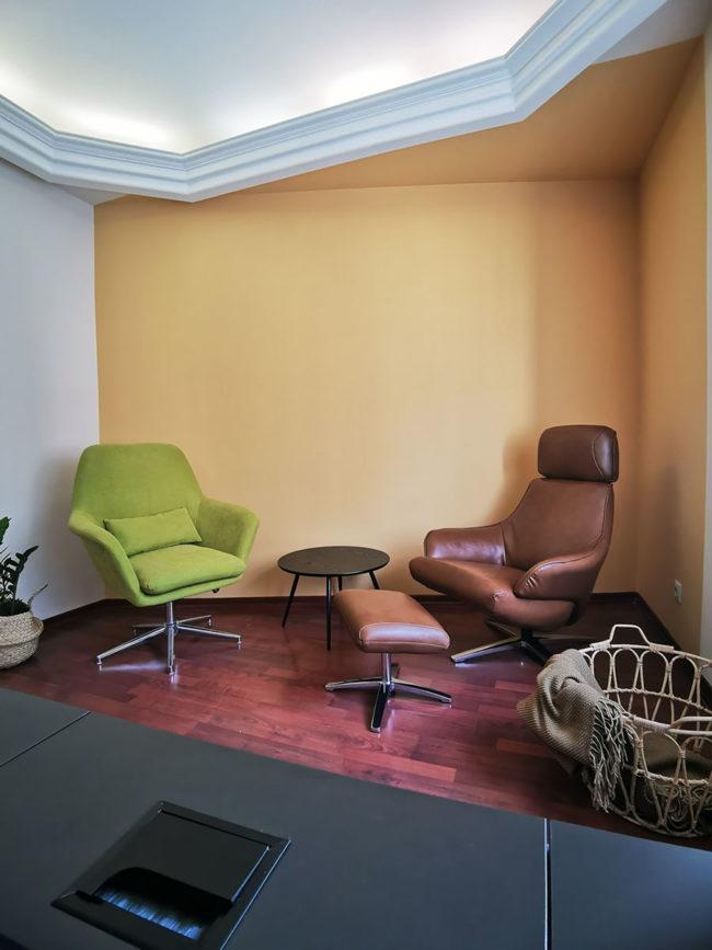 Красивый кабинет психолога в аренду