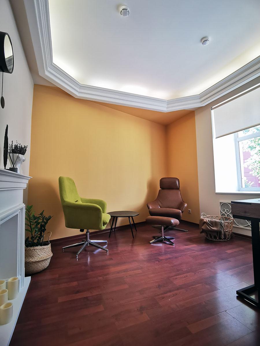 Почасовая аренда кабинета психолога в Москве