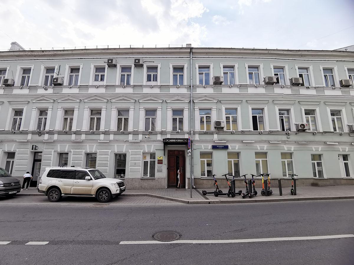 Общий вид здания на Ленивке 3с3